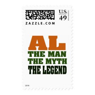 Al - the Man, the Myth, the Legend! Postage Stamp
