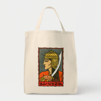 al-Uzza Grocery Tote Bag