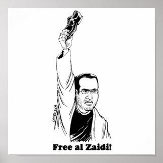 al-Zaidi Print  - Latuff
