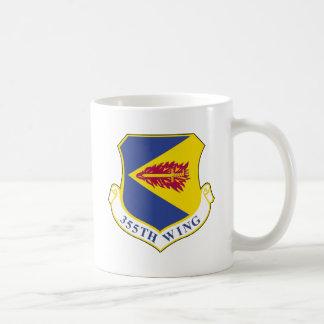 Ala de 355 combatientes tazas de café