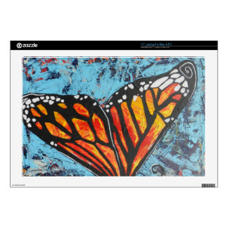 Ala de la mariposa de monarca de las creaciones de portátil calcomanías