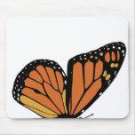 ala de la mariposa de monarca alfombrilla de ratones