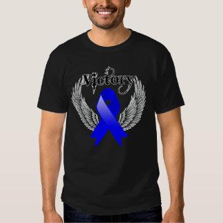 Ala de la victoria - cáncer anal playeras