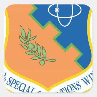 ala de las operaciones especiales 193d pegatina cuadrada