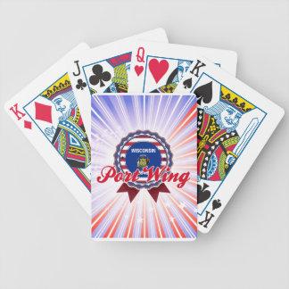Ala de puerto, WI Baraja Cartas De Poker
