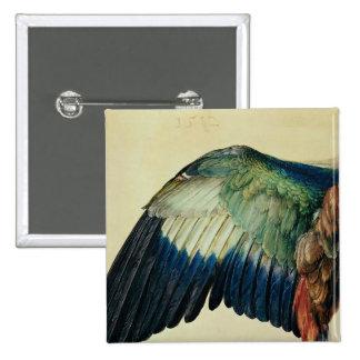 Ala de un rodillo azul, 1512 pin cuadrada 5 cm