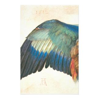 Ala de un rodillo azul de Albrecht Durer Papeleria