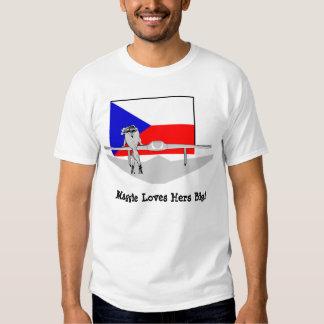 Ala de vuelo checa camisas