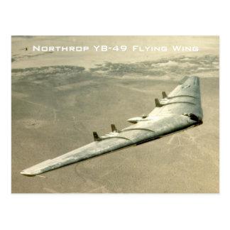 Ala de vuelo de Northrop YB-49 Postales