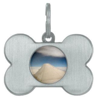 Ala del cielo de la esperanza placas mascota