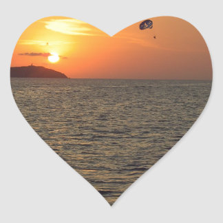 Ala flexible en Sunset.JPG Pegatina En Forma De Corazón
