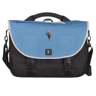 Ala flexible motorizada bolsas para ordenador