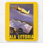 Ala Littoria Alfombrillas De Raton