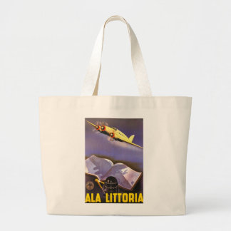 Ala Littoria Large Tote Bag