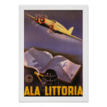 Ala Littoria Posters