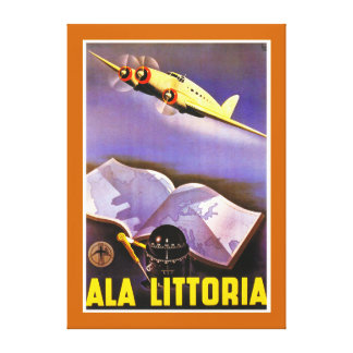 Ala Littoria - XL Canvas Print