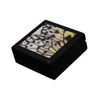 Ala macra de la mariposa de la ninfa caja de joyas