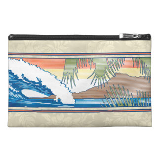 Ala Moana Diamond Head Hawaiian Surf Sign Travel Accessory Bag
