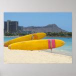 Ala Moana Surfboards Poster