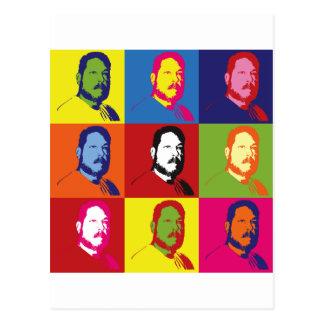 Ala Warhol de Fred Tarjeta Postal