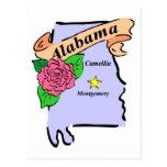 Alabama 2 tarjeta postal