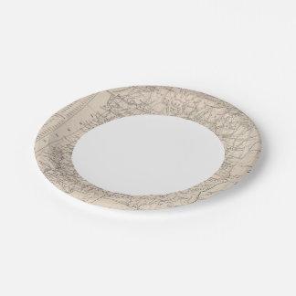 Alabama 6 paper plate