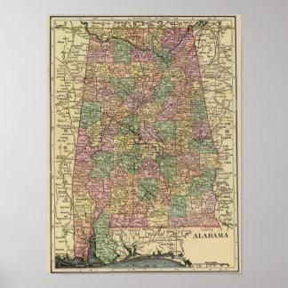 Alabama 6 print