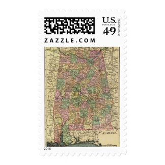 Alabama 7 postage