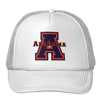 Alabama 'A' Blue and Orange Trucker Hat