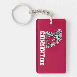 Alabama A Crimson Tide Big Al Keychain