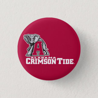 Alabama A Crimson Tide Big Al Pinback Button