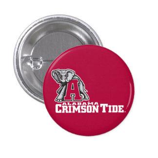 Alabama A Crimson Tide Big Al Pinback Button