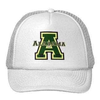 Alabama 'A' Green Trucker Hat