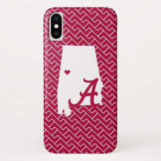 Alabama A iPhone X Case