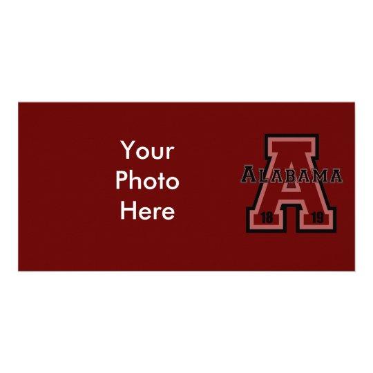 Alabama 'A' Red Card