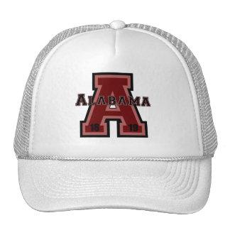 Alabama 'A' Red Trucker Hat
