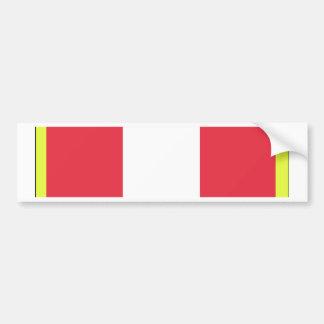 Alabama Active Duty Basic Training Ribbon Bumper Sticker