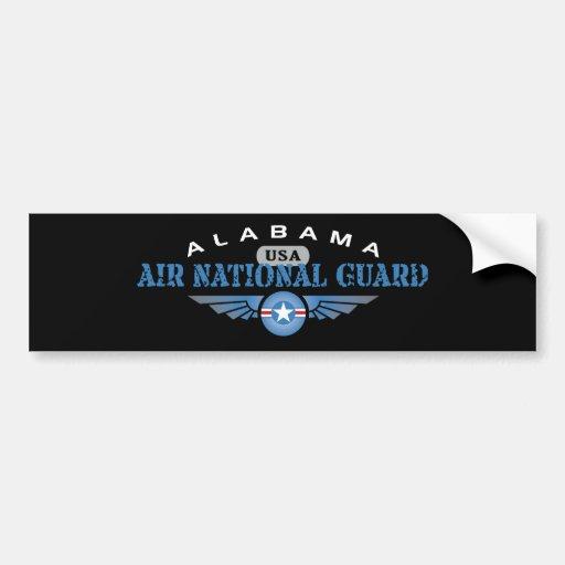 Alabama Air National Guard Car Bumper Sticker