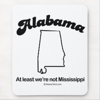 "ALABAMA - ""ALABAMA STATE MOTTO"" T-shirts and Gear Mouse Pad"