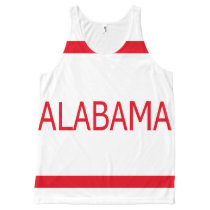 Alabama All-Over Printed All-Over-Print Tank Top