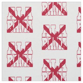 Alabama American state flag Fabric