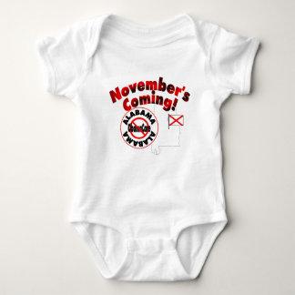 Alabama Anti ObamaCare – November's Coming! Baby Bodysuit