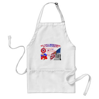 Alabama Anti ObamaCare We Will Remember Adult Apron