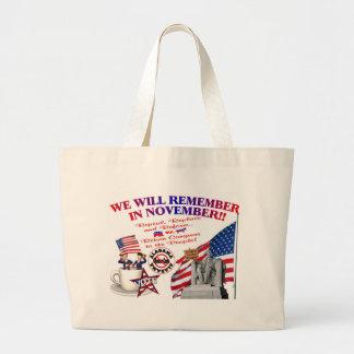 Alabama Anti ObamaCare We Will Remember Tote Bag