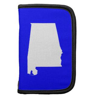 Alabama azul y blanca organizadores
