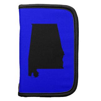 Alabama azul y negra planificadores