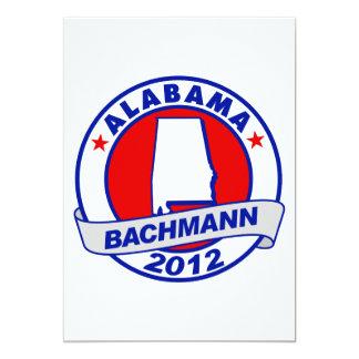 Alabama Bachman 5x7 Paper Invitation Card
