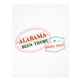 Alabama Been There Done That Letterhead