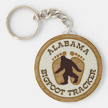Alabama Bigfoot Tracker Keychains