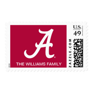 Alabama blanca A Timbres Postales